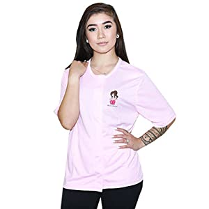 breast cancer mastectomy shirt with drain pockets post op surgery womens shirts pink