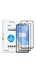 oneplus 7t screen protector tempered glass