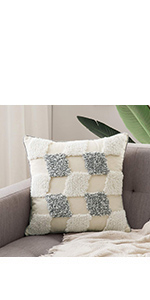 tribal boho woven tufted pillowcase with tassels super soft pillow sham pillowcase cushion case