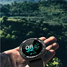 Multifunctional Wrist-type Heart Rate Monitoring Watch for Men and Women Training Sports Watch