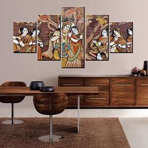 Living Rooms Home Office Wall Decor Wall Art Package Wood Frame Ready to Hang tumovo