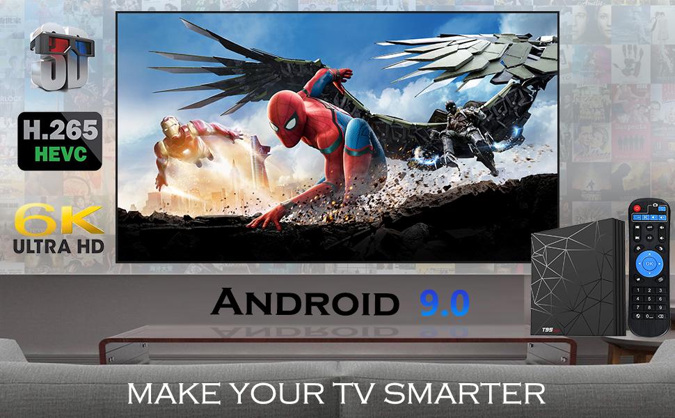T95MAX TV BOX 4GB