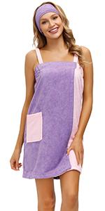 bath wrap robe