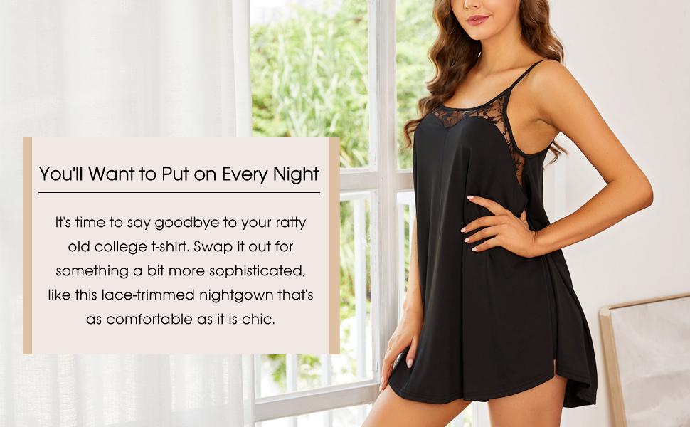 Soft Sleeveless Nightgown