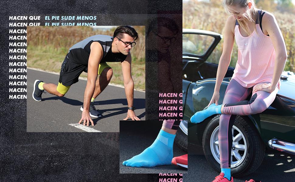 Los calcetines Rainbow Socks son transpirables