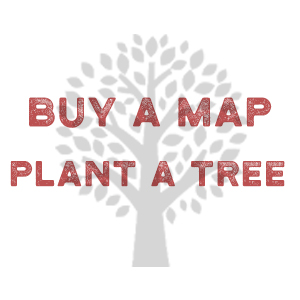 Buy A Map Plant A Tree. We plant a tree in partnership with National Forest Foundation.
