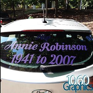 1060 graphics custom vinyl lettering decal stickers