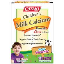 children milk calcium