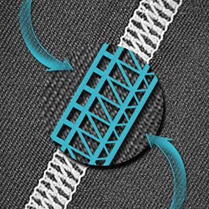 Four Needle Six Lines Craft & Flatflock Stitching