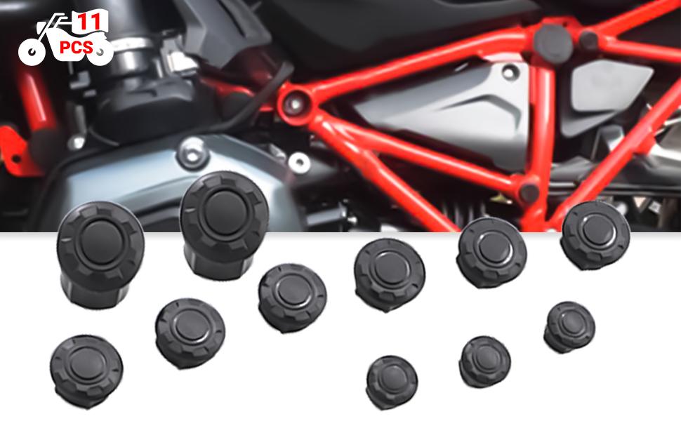 Guaimi Rahmenstopfen Rahmen Plugs 11 Teilig Satz Für B M W R1200r 2015 2019 Auto