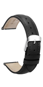 top grain leather watch bands