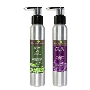 melissa oil, natural oil, body oil, skincare, body care, organic, reduces stress, LAVENDER