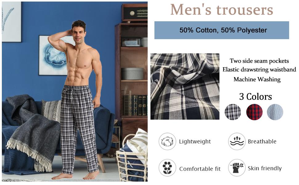 2 Pack Pyjamas pants