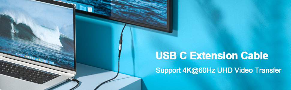 usb c extension cable usb c male to usb c female cable thunderbolt 3 extension cable thunderbolt