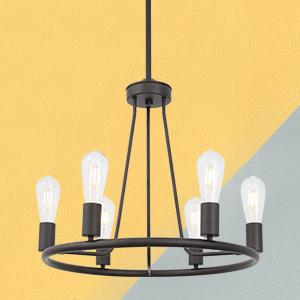 BONLICHT  Vintage Flush mount Ceiling Light fixture hanging pendant light