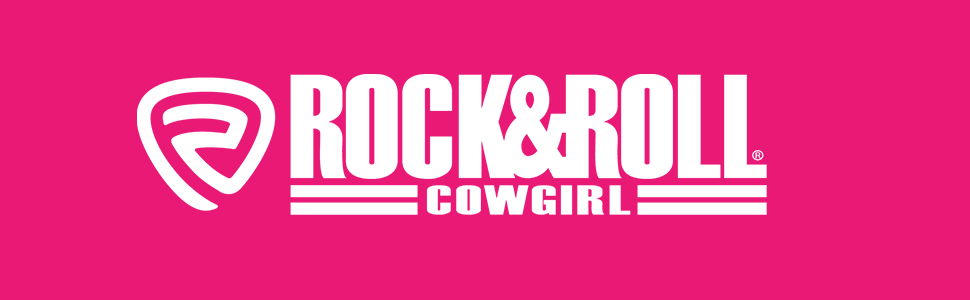 rock and roll cowgirl logo