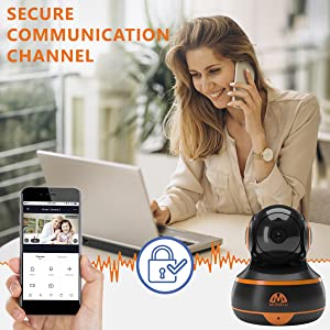 Secure communication channel data privacy security Cloud encrypted data save storage cell tracker