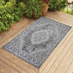 outdoor 4x6 5x7 6x9 8x10 patio jute rug carpet indoor modern entry hallway seagrass mat kitchen grey