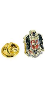 Pin de Solapa Águila de San Juan Artículo Decorativo para Chaquetas y Trajes