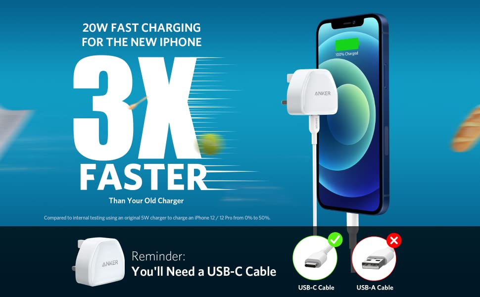 anker fast wall charger