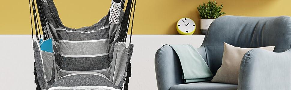 Hammock chair hanging chair air chair swing chair