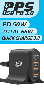 usb c charger 66W
