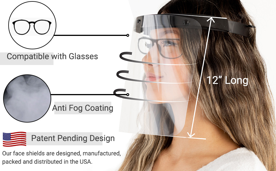 anti fog coating patent pending only one of its kind savvy shields face