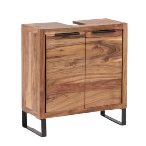 Woodkings® Badmöbel Set Sydney Holz Akazie hell rustikal
