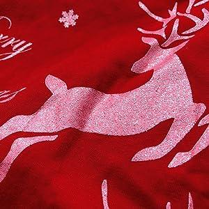 GLITTER Reindeer Pattern