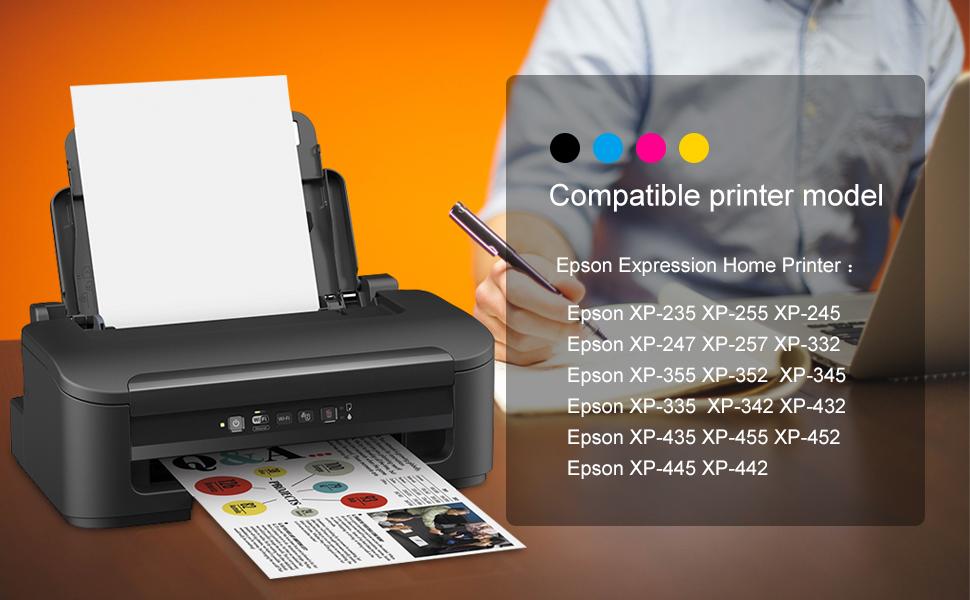 EBY Compatible Epson 29XL Cartuchos de Tinta con Epson Expression ...