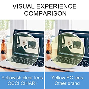 OCCI CHIARI GIVES YOU A MORE COMFORTABLE VISUAL EXPERIENCE.