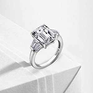 emerald cut ring, cocktail ring for women