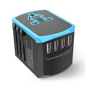 4 USB Charging Ports