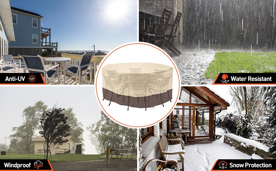 outdoor furniture covers waterproof