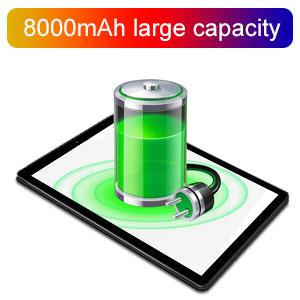 batería 8000mAh