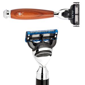 MÜHLE TRAVEL Anodized Aluminum Silvertip Fiber Travel Shaving Brush