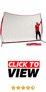 PowerNet 12x9 ft Sports Barrier Net is great to protect car and house windows. Great for coaches.