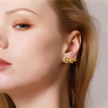 intial earrings