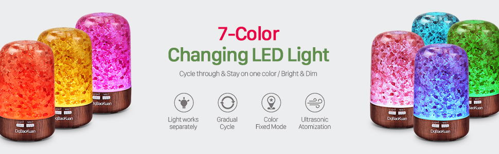 seven color chaning night light