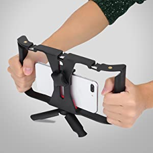 mobile stabilizer, stabilizer for mobile, mobile holder for photography and videography, mobilephone