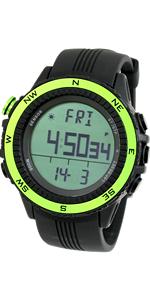 Lad Weather Reloj Altímetro Barómetro Brújula Termómetro ...