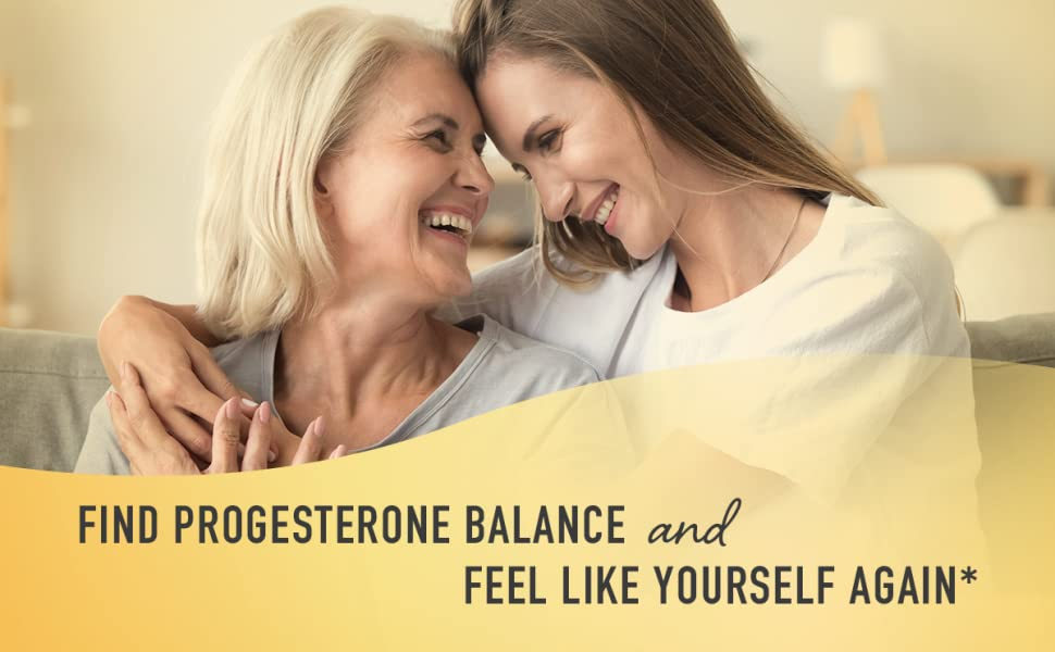 find progesterone balance and feel like yourself again