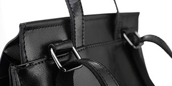 zaini da donna zaino di cuoio donna realer reale leather daypack pelle nero