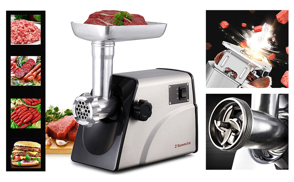 sunmile electric meat grinder