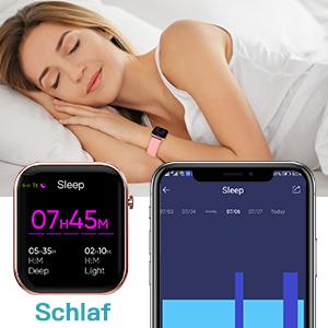smartwatch Schlaf Tracking