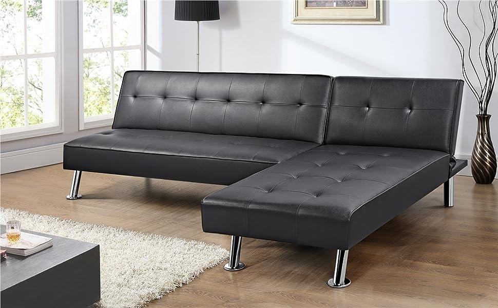 YAHEETECH Living Room Sectional Sofa Sets