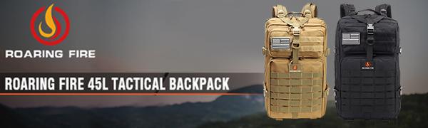 Roaring Fire 45L tactical backpack