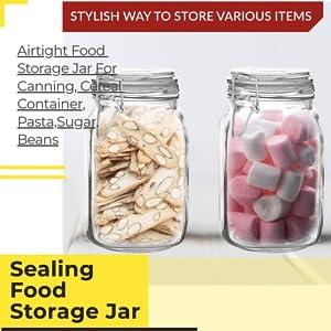 food container jam jelly masla storage glass jars