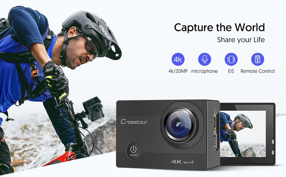 action camera 4k, gopro