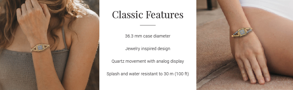 Fashion Women's Contemporary Bracelet Watch